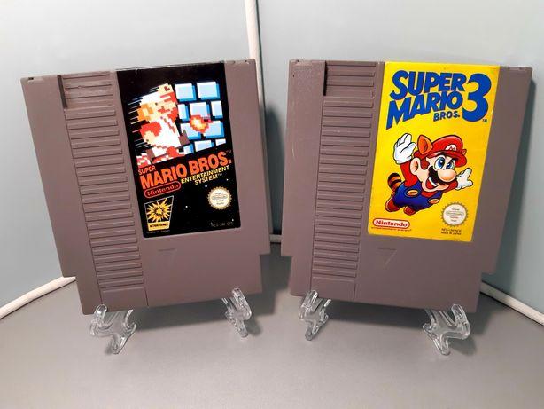 Jogos Nintendo NES: Super Mario Bros. 1 e 3