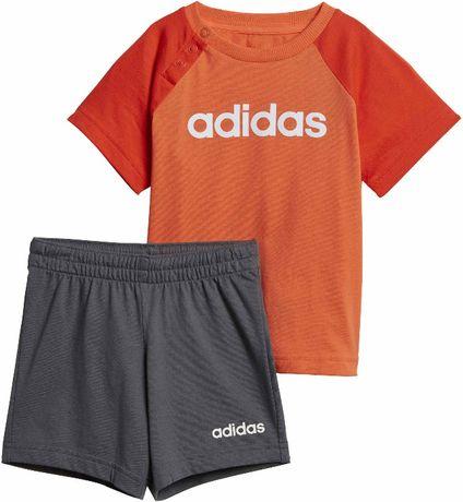 ADIDAS komplet dziecięcy koszulka spodenki r.86,92