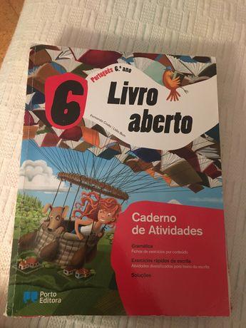 Cadernos de atividades 6 ano