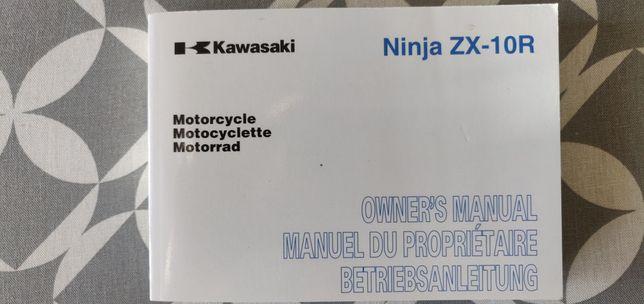 Instrukcja Kawasaki ZX10r Z1000SX Z1000 ER6n ER6f Z750R VERSYS 650