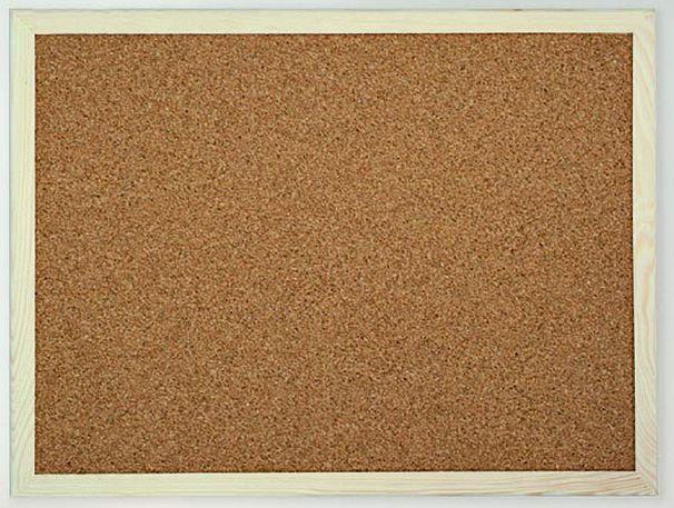 Tablica korkowa w drewnianej ramie 90x60 cm IDEALNE DO POKOJU DZIECKA