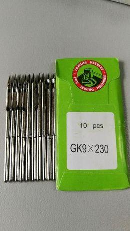 Иглы GK9-2, GK26, SF26 GK1800 мешкозашивочных машин