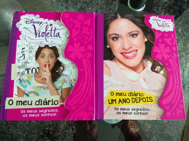 Disney Violetta o meu diário ( livros juvenis )