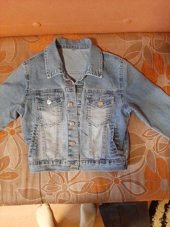 Dziewczęca kurtka jeansowa