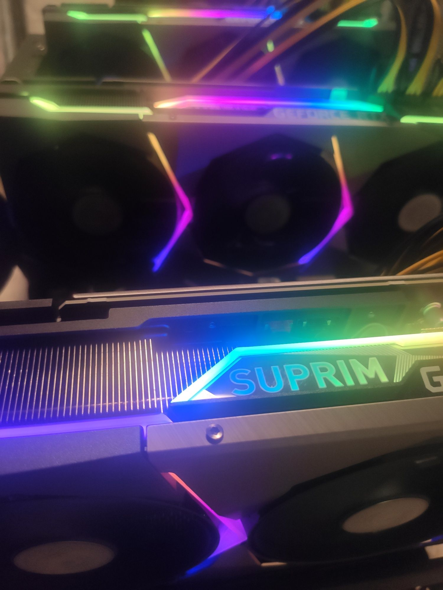 Mining Rig 3x RTX 3090 MSI Suprim X