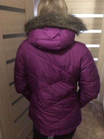 Куртка курточка фиолетовая Columbia утеплённая осень зима