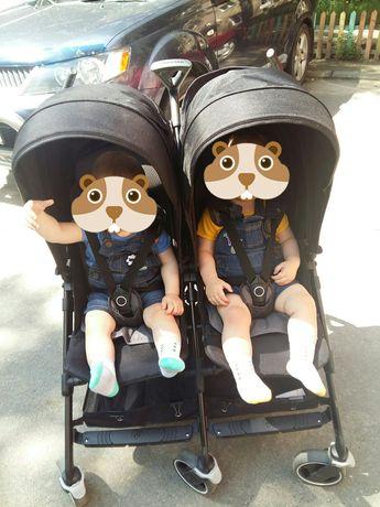 Прогулочная коляска трость для двойни Maxi cosi Dana for 2