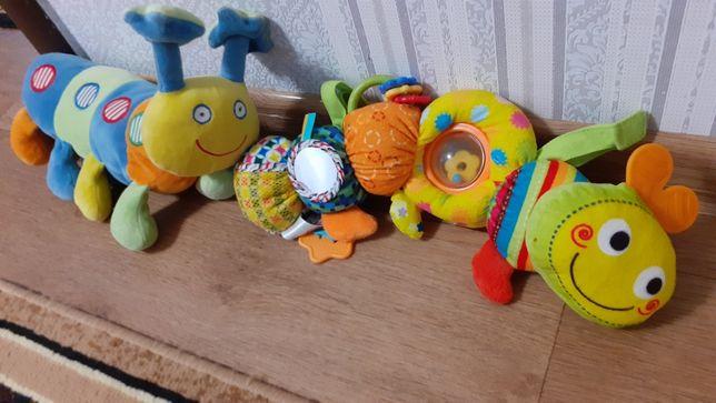 Продам игрушки-погремушки