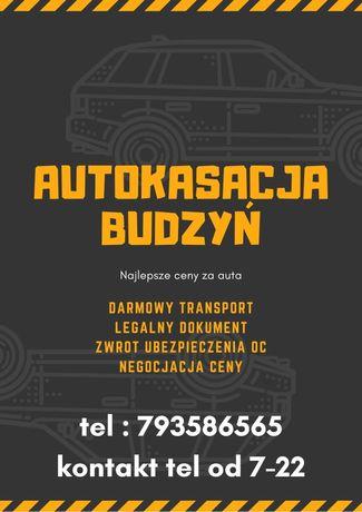 Legalna Autokasacja Budzyn Zlomowanie Pojazdow Skup aut