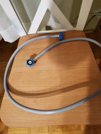 Wąż dopływowy do pralki/zmywarki 1,5 m. plus 2 uszczelki
