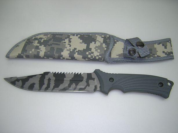 Nóż Columbia moro wojskowy policyjny harcerski myśliwski