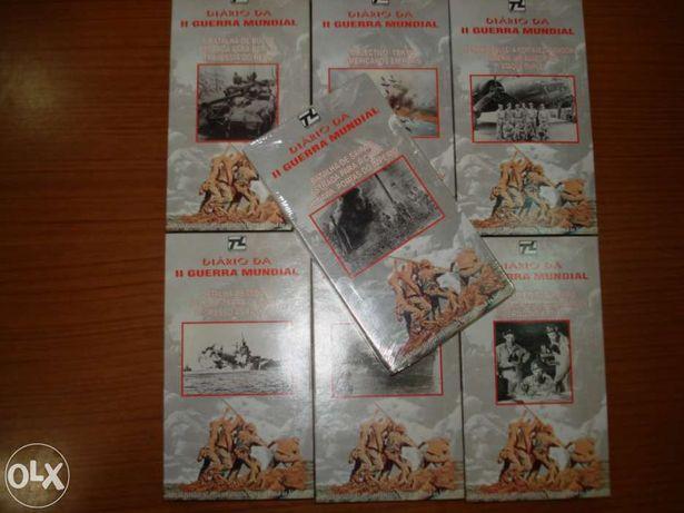 7  VHS - Lusomundo - Diarios I I  Guerra Mundial