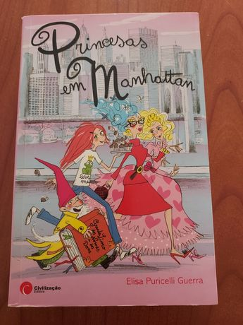 "Livro ""Princesas em Manhatthan"" Elisa P Guerra Literat Juv"