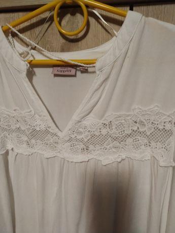 Koszula KappAhl m 38 biała szyfonowa