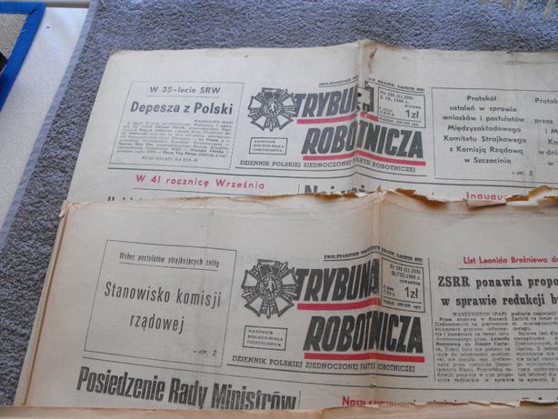 gazety z czasow prl