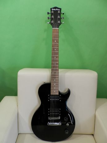 gitara elektryczna typu les paul doinwestowana