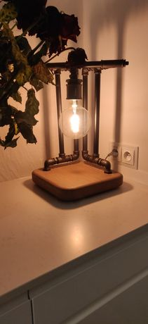 Lampa industrialna.