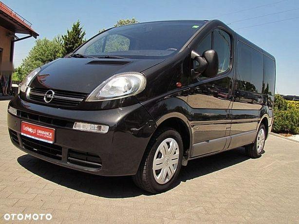 Opel Vivaro 1,9cdti Klima, 7 Osób, El. Szyby, El. Lust., 2005r.,