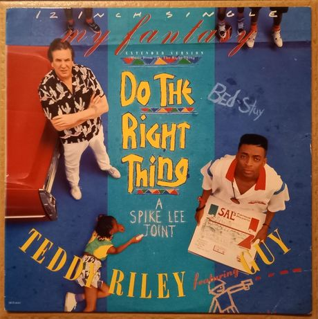 "Teddy Riley - My Fantasy OST From ""Do The Right Thing"" Winyl!"