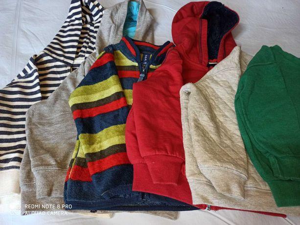 Bluzy dla chłopca r. 92