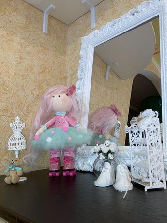 Кукла текстильная, оригинальный подарок девушке или девочке