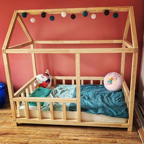 ŁÓŻKO DOMEK/drewniane łóżko domek / łóżko dla dziecka
