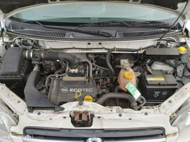 Motor Opel Agila A Combo Corsa C 1.0 8v 60cv Z10XEP Caixa de Velocidades Arranque + Alternador