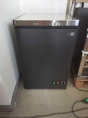 Zamrażarka skrzyniowa, wolnostojąca,98L.A+,Wysokość 85.5cm.Nowa.
