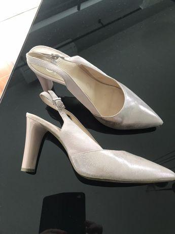 Buty damskie wizytowe skóra 40