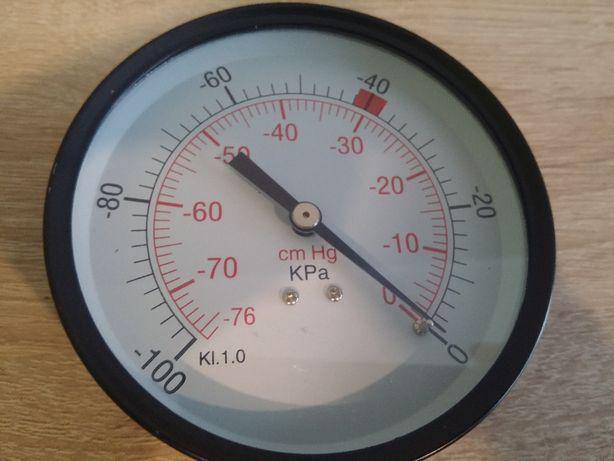 Wakuometr zegar dojarki duży 100mm lub mały 63mm