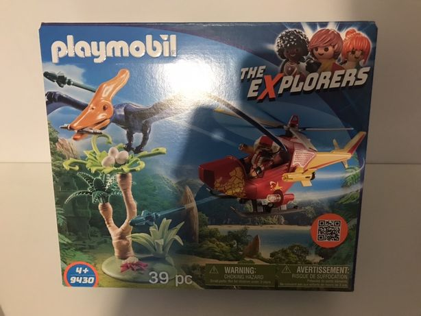Helikopter i Pterodaktyl Playmobil 9430