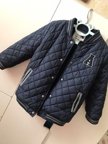 Стеганный бомбер курточка