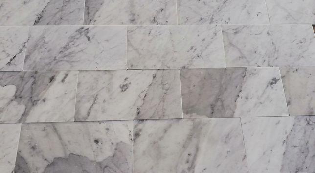 Płytki Marmurowe Bianco di Carrara 15.2x30.5x1 PROMOCJA!!!