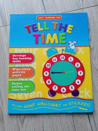 Tell the time - Książka anglojęzyczna
