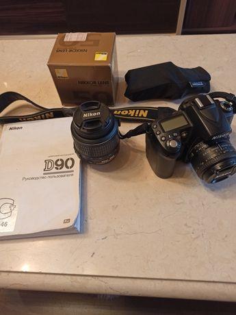Nikon D90 Идеал + комплект