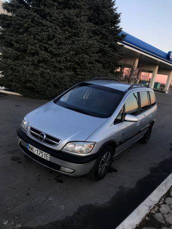 Opel Zafira 7мест