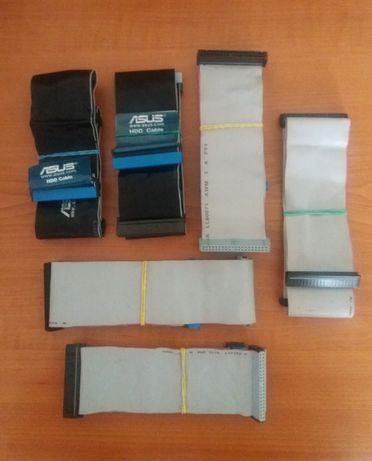 Lote 6 Cabos IDE / ATA / Flat / para Discos HD