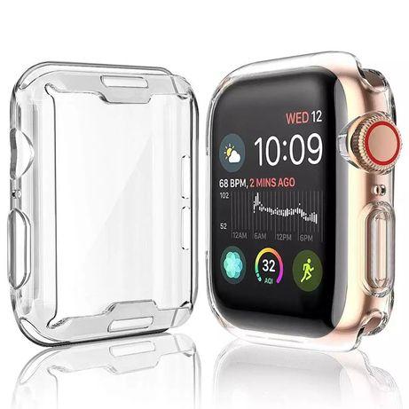 Мягкий силиконовый чехол протектор для Apple Watch.