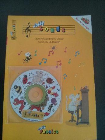 Jolly Songs Livro e cd Rom