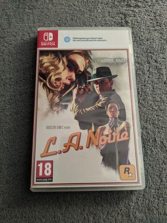 L.A Noire LA Noire Nintendo Switch Stan idealny UNIKAT!!!