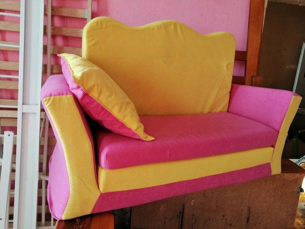 Sofa dla dzieci do zabawy z pianki