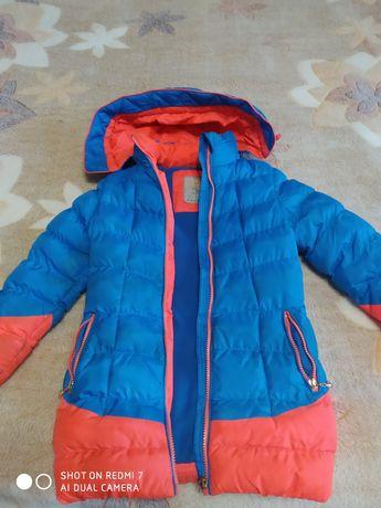 Пальто на флизе
