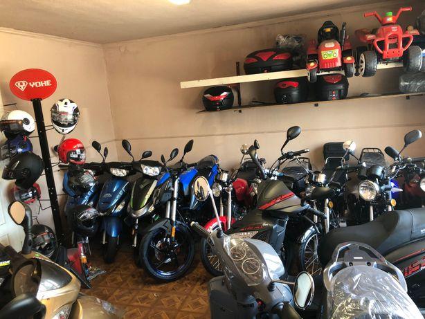Skutery motocykle quady rowery gwarancja raty sklep Rozprza