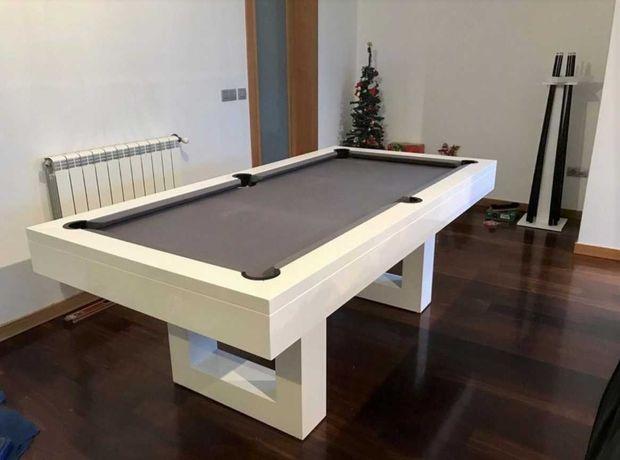 Bilhar Snooker Monaco com Tampo Jantar - BIhares Capital
