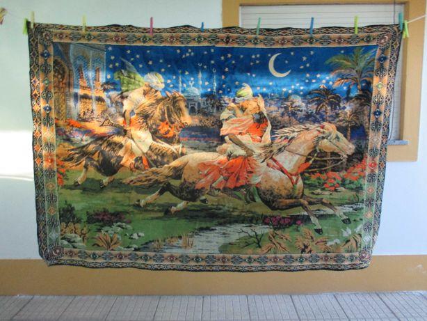 Carpete em veludo Angolana