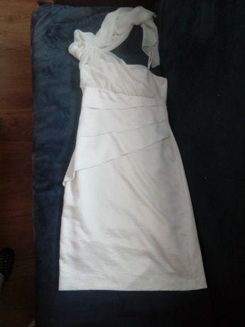 Sukienka 38.  Biała