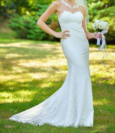 Piękna suknia ślubna Monica Loretti