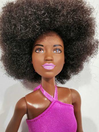 Barbie Fashionistas, murzynka włosy afro