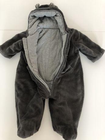 Kombinezon zimowy rozmiar 66 dla dziecka 3-6 miesięcy