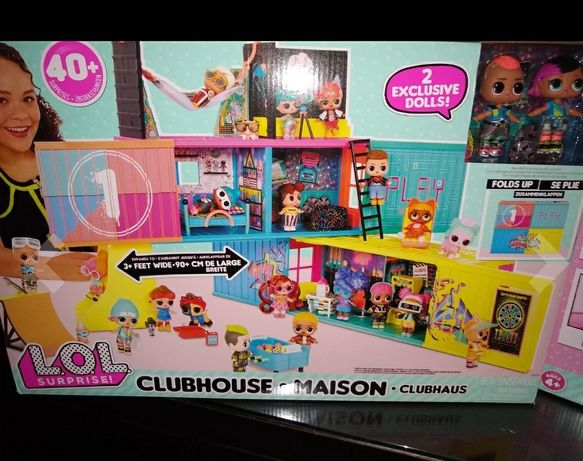 Клубний ляльковий дім ЛОЛ L. O. L. Surprise! Clubhouse Playset with 40